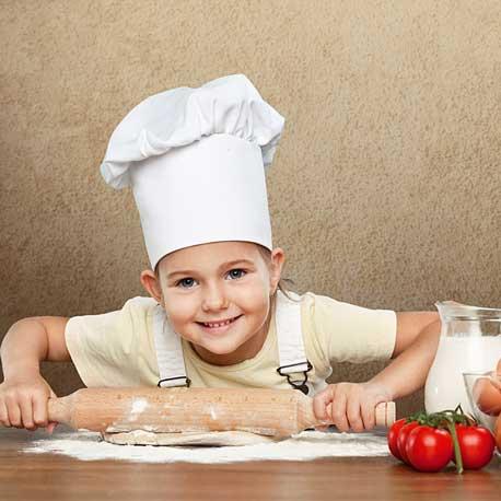 Cumpleaños infantiles cocinando