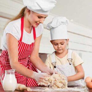Pizzas artesanales para padres e hijos