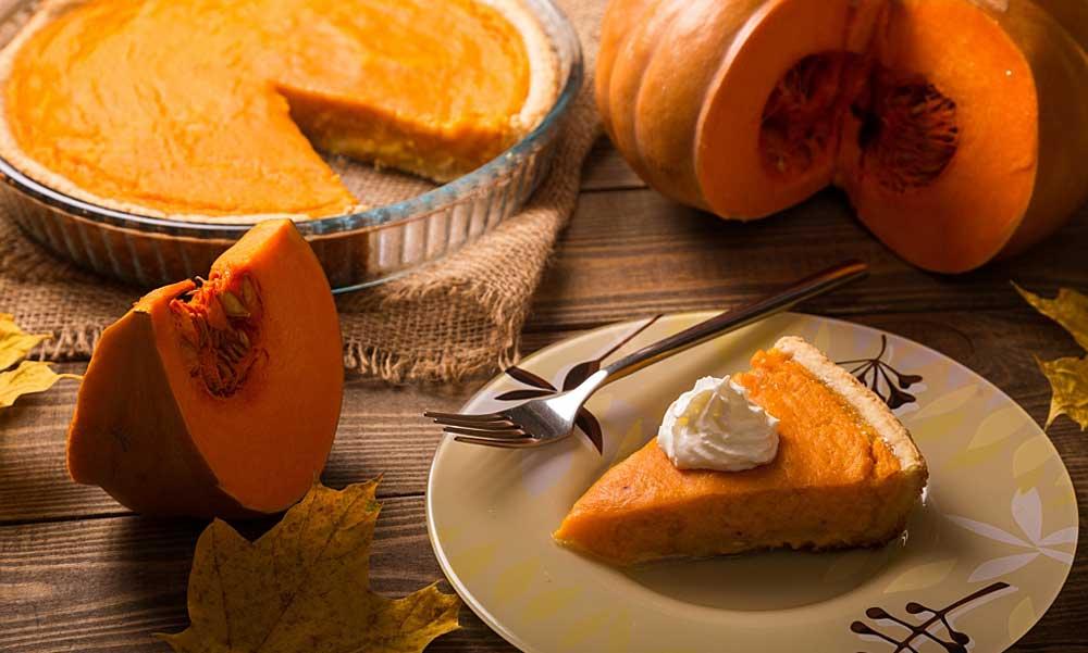 Cocinando con calabaza en Halloween