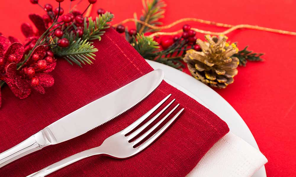 Comidas y Cenas de Navidad Sanas