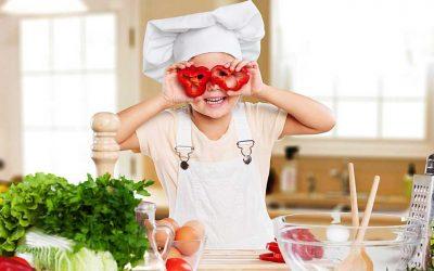 6 beneficios de los talleres de cocina para niños