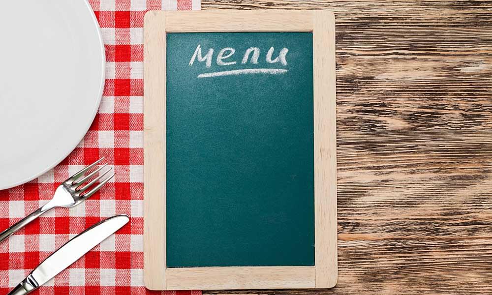 Ventajas de crear y preparar menús semanales