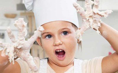 Beneficios de la cocina en los niños