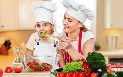 Cursos de cocina para niños en Toledo