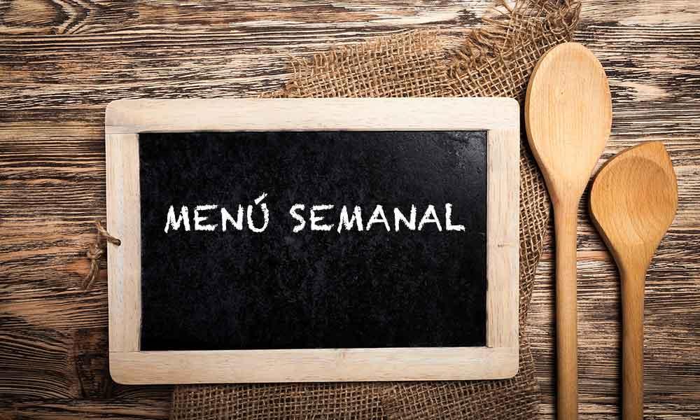 La importancia de organizar tu menú semanal